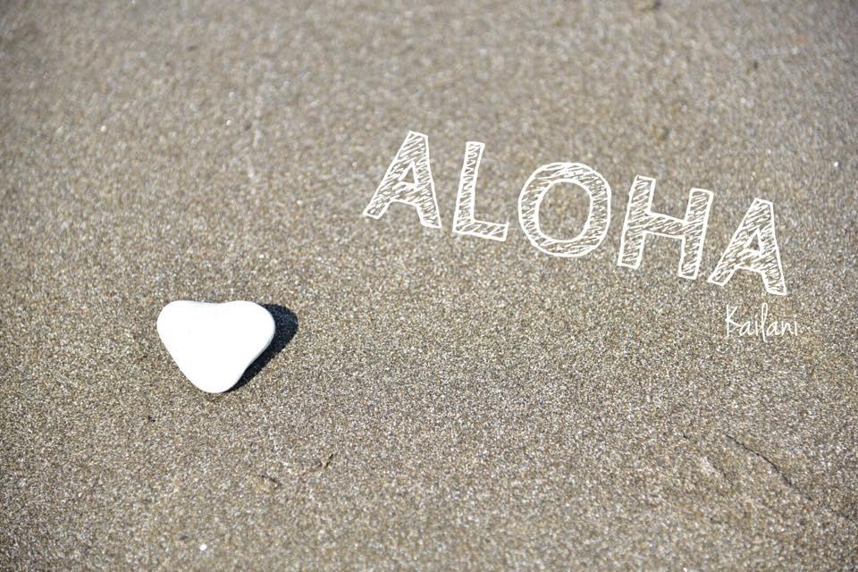 ハワイ砂浜