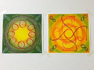 曼荼羅、アートワークヒーリング